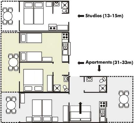 Sidi beach apartments hotel n flogita halkidiki chalkidiki greece blueprint malvernweather Image collections